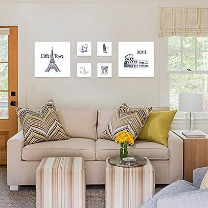 Foto da Parete, decorazioni da parete soggiorno idee cornice ...