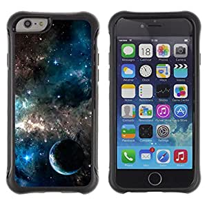 King Case@ Galaxies Universe Sky Stars Planet Nebula Rugged hybrid Protection Impact Case Cover For iphone 6 6S CASE Cover ,iphone 6 4.7 case,iphone 6 cover ,Cases for iphone 6S 4.7