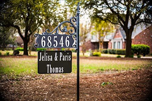 - Boardwalk Double Sided Super Reflective Address Sign 47