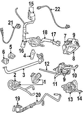 Amazon Com Genuine Chrysler 4809584ab Fuel Hose Automotive