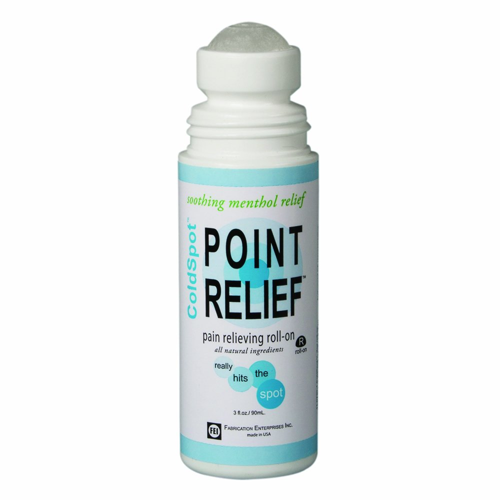 Point Relief 11-0720-12 ColdSpot Roll-On, 3 oz Bottle (Case of 12)