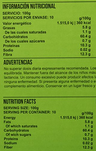 Big Man Nutrition Instant Oatmeal Suplemento de Carbohidratos Chocolate Blanco - 3000 gr: Amazon.es: Salud y cuidado personal