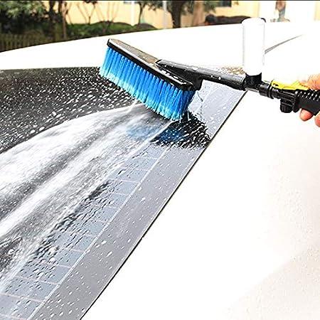 Crazywind Waschbürste Schlauchadapter Fahrzeug Lkw Reinigung Wasser Sprühdüse Waschwerkzeug Auto