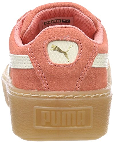 Puma Suede Platform Snk PS, Zapatillas Unisex Niños Rosa (Shell Pink-whisper White)