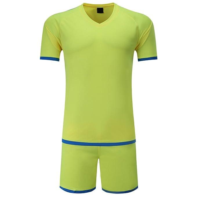 BOZEVON Ropa Deportiva Transpirable de Verano de Hombres y Niños, Uniformes de Camisetas de Fútbol de la Copa del Mundo, chándal de Equipo de Fútbol: ...