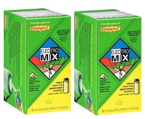 Emergen-C Electro Mix, Lemon Lime, 30-count 51hiMYRXiBL