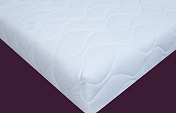 Visco Terapia Super Firme Super Ortho colchón con Cubierta CoolFlex con Alta Densidad Espuma Reflex, Rey, 150 x 200 x 20 cm, 5 m, Color Blanco: Amazon.es: ...