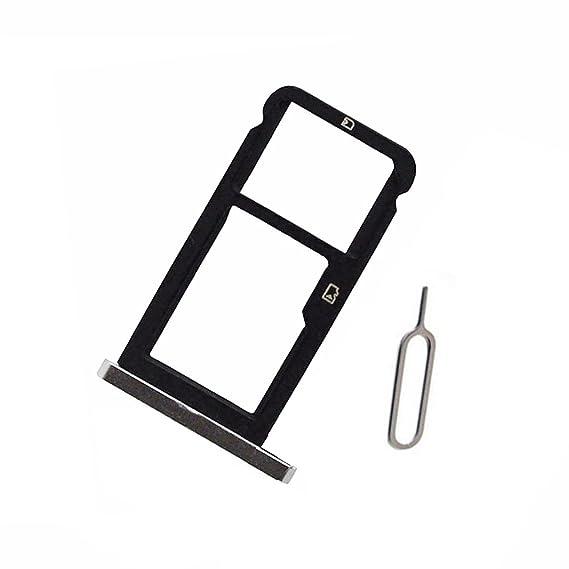 Amazon.com: Gris Tarjeta SIM y tarjeta Micro SD bandeja ...