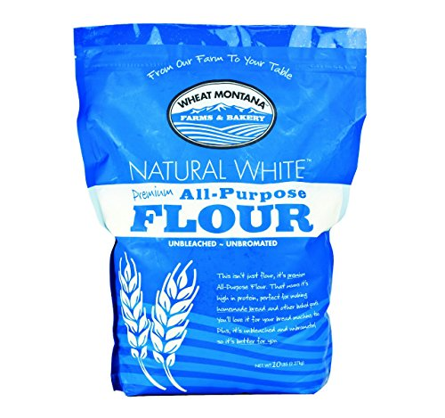 Wheat Montana All Purpose White Flour (Pack of Four – 10 Lb. (Enriched Wheat Flour)