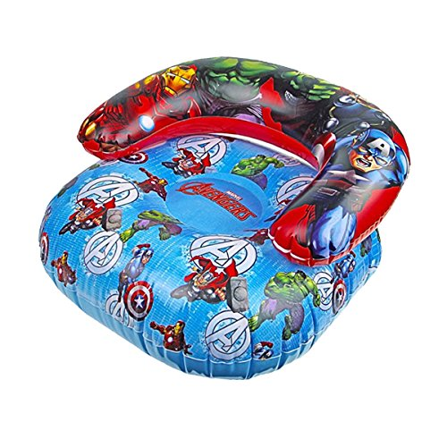 Marvel Avengers Childrens Inflatable PVC Gaming Chair Sofa Kids Couch Comic New