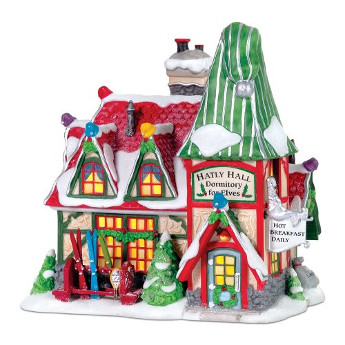 Department 56 North Pole Hatly Hall by Department 56 (Image #1)