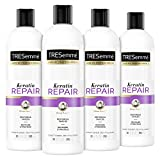 TRESemmé Conditioner for Damaged Hair Keratin Repair Restores and Seals Hair from Damage 20 oz 4 Count