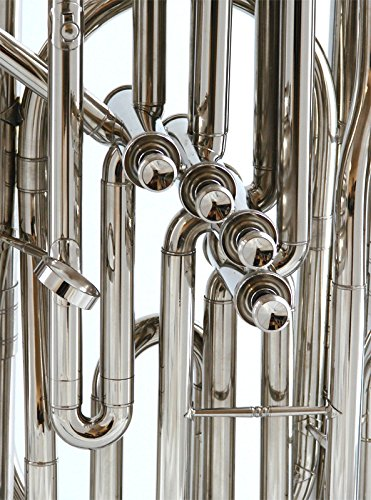 Schiller American Heritage 4-Valve Piston Tuba - Nickel Finish by Schiller (Image #2)