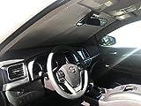 HeatShield The Original Auto Sunshade, Custom-Fit for Toyota Highlander SUV 2017, 2018, 2019, Silver Series
