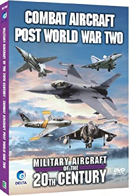 Military Aircraft Of The 20th Century - Combat Aircraft Post World War Two [DVD]