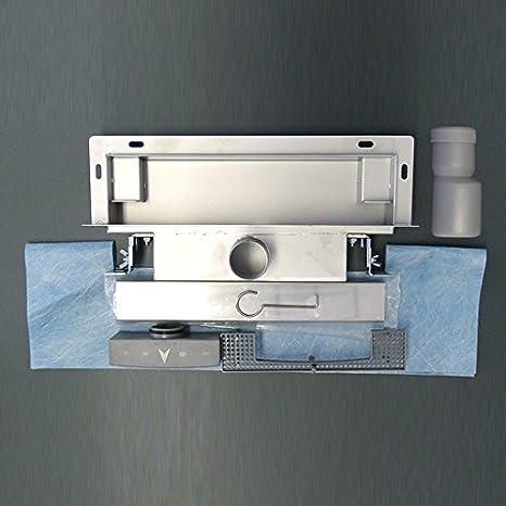 /à carreler longueur s/électionnable Caniveau de douche mural WD-GT01 Longueur du drain de la douche:700mm