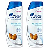 Coconut Oil for Dry Scalp Head & Shoulders Dry Scalp Care with Almond Oil Dandruff Shampoo, 23.7 fl. oz. (Pack of 2)