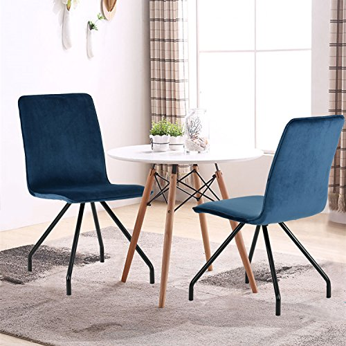 GreenForest Dining Chairs Velvet Transfer product image