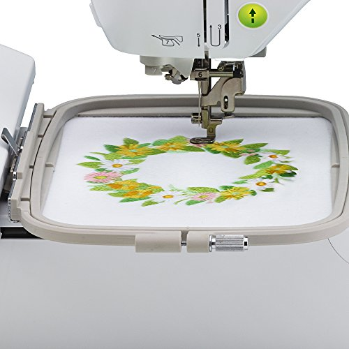 Brother PE800, 5x7 Embroidery Machine, One Size, White