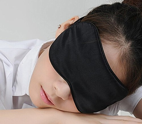 md-group Silk Sleep Eyeshade Cover Eye Mask For Sleeping Rest Travel by md-group Eyeshade