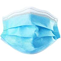 Comfortable Surgical Masks With Elastic Earrings, Suitable For Dentistry, Nail Salons, Etc. (50 Pieces) (Color : Blue)