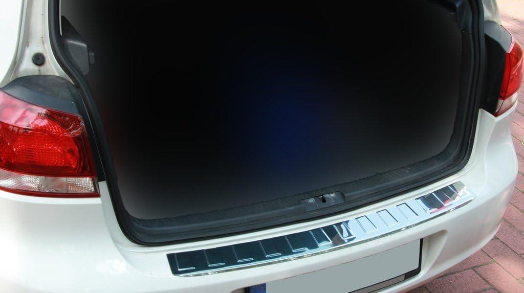 tuning-art 623 Limo Edelstahl Ladekantenschutz mit Abkantung Fahrzeugspezifisch