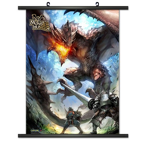 CWS Media Group Officially Licensed Monster Hunter Wall Scro