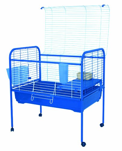Marchioro Susan 82 Cage for Small Animals with Wheels, 32.25 inches, Blue by Marchioro