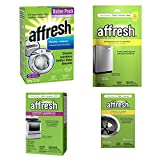 vacuum bag loader - Affresh Washing Machine and Dishwasher Cleaner - Bundle Includes 4 items – Cooktop Cleaning Kit, Disposal Cleaner, Clothes Washer, and Dishwasher Cleaner - Used To Refresh Your Kitchen Appliances
