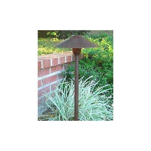 Path Lighting Mushroom - Sawan Shop Landscape Outdoor Garden Low Voltage Lighting - Mushroom Path Light Rust Finish