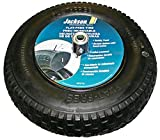 3 Pack Jackson FFTKBCC 16'' Flat Free Knobby Wheelbarrow Tire for 5/8'' Axle