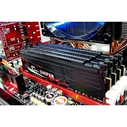 G.Skill 16GB DDR3-2400 m/ódulo de 16 GB, 4 x 4 GB, DDR3, 2400 MHz, 240-pin DIMM Memoria