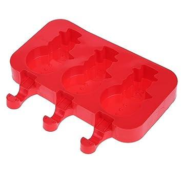 TTnight Moldes de silicona para hacer helados molde bandeja de hielo con cubierta antipolvo: Amazon.es: Hogar