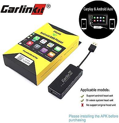 Carlinkit Carplay Dongle Android Car Head Unit USB Adapter