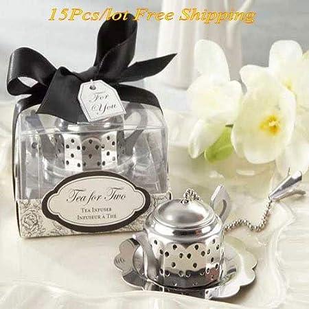 Anniversario Matrimonio Numeri Lotto.Ywehappy 15 Pezzi Lotto Souvenir Di Nozze Stravaganti Di Teapot