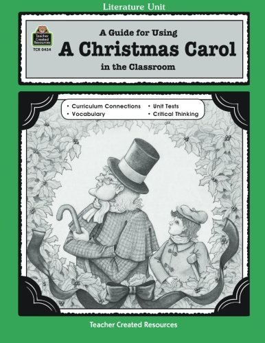 Printable A Christmas Carol Unit Study Resources Scrooge