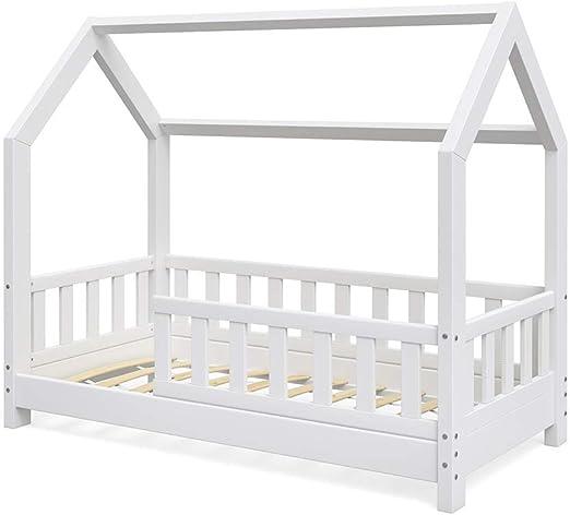 Cama Infantil Vicco Wiki 70 x 140 cm, Color Blanco, Cama Infantil ...