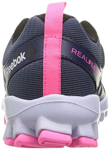4 Women's Cross Trainer Realflex Lucid Train Ink Shoe Pink Black Blue Poison Lilac 0 Reebok qtcRdqS