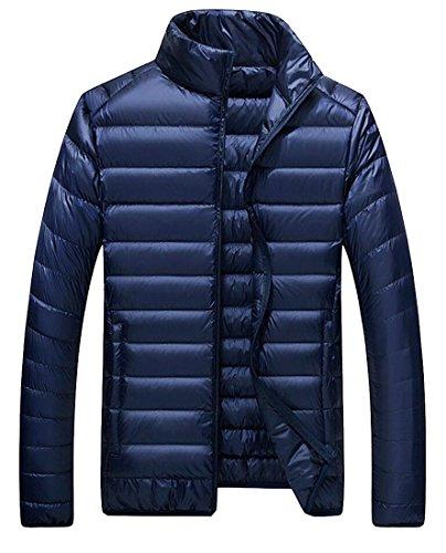 Puffer Coat Gocgt Lightweight Winter 2 Packable Men's Winter Down Jacket q808rw