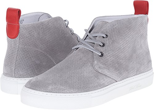 Toro Grey Men's Perforated Suede Chukka Del Sneaker q8wB7xfn7O