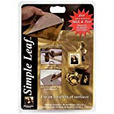Speedball Art Products Mona Lisa Gold Simple Leaf, 18 Sheet Pack