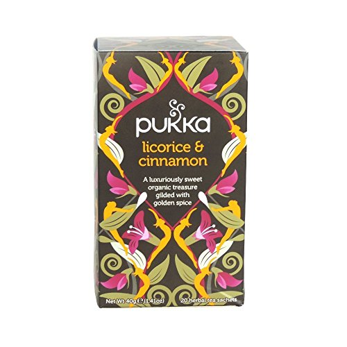 Pukka - Licorice & Cinnamon - 40g (Case of 4)