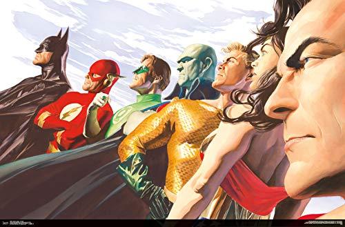 Trends International Justice League - Portrait Wall Poster, Multi