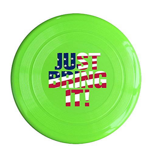 AOLM Just Bring It Outdoor Game Frisbee Game Room KellyGreen