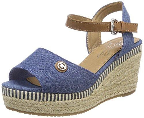 Denim Alla Caviglia Tailor Tom Sandali Donna 4890707 Con jeans Cinturino Y8UqXUO