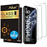 Wireless : Ailun for Apple iPhone 11 Pro/iPhone Xs/iPhone X Screen Protector 3 Pack 5.8Inch Display Tempered Glass 2.5D Edge Advanced HD Clarity Work Most Case