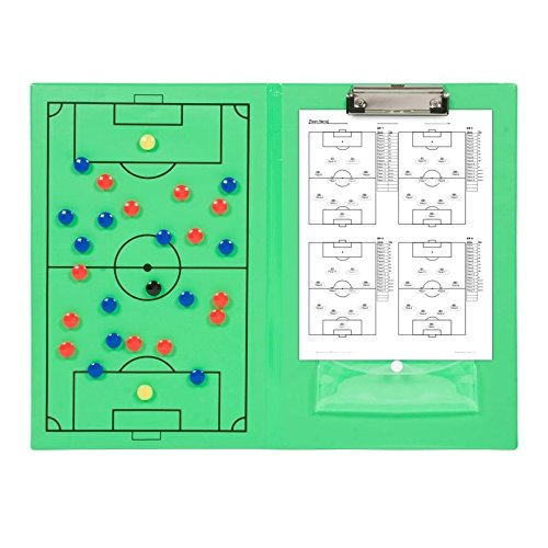 Trademark Innovations Magnetic Soccer Clipboard SOCCER-MAGNET