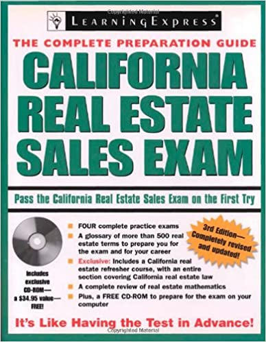 Amazon com: California Real Estate Sales Exam (9781576856024