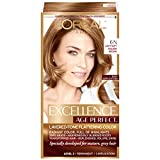 L'Oreal Paris ExcellenceAge Perfect Layered Tone Flattering Color, 6N Light Soft Golden Brown