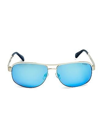 Guess GU6874 C63 34X (shiny light bronze / blu mirror) Sonnenbrillen 0rOMk